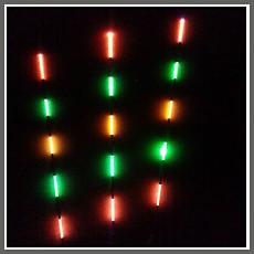 신상품 new스이게츠 소꼬쯔리(내림)용 광섬유 전자찌 *5목 발광 #1~#2약(1.5푼~약2.0푼)