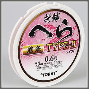 [토레이] 은린 헤라 TYPE-II (도사)(원줄) 50m