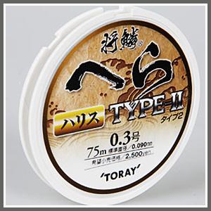 [토레이] 은린 헤라 TYPE-II (하리스)(목줄) 75m