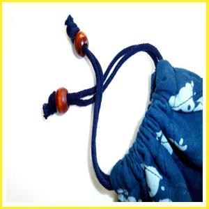 藍染調 万力袋/ 고급 클램프 보관주머니 ( R N /중.대)
