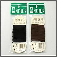 니치린 뜰망 실(흑색/갈색)/5m