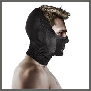 [나루] X5H 마스크 (사계절용) 귀와 얼굴을 감싸는 하프바라클라바 타입