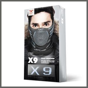 [나루] 나루마스크 X9 겨울용 레저스포츠 기능성 마스크