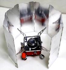 알미늄 8단 바람막이