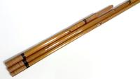 수제 대나무 고급 중층 받침대  2본물 (3절/200cm)받침대