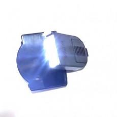 초강력 모자용 3구(LED) 미니라이트(흑색)더욱 가벼워지고.밝기는 강력합니다