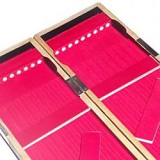 일본/ 화조공방 9열  오동목 블랙찌케이스**2014년형**신제품(길이60cm/폭10.5cm/두께3.5cm)보관천집포함