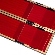 일본/2014년형 화조공방 8열블랙 오동목 찌케이스